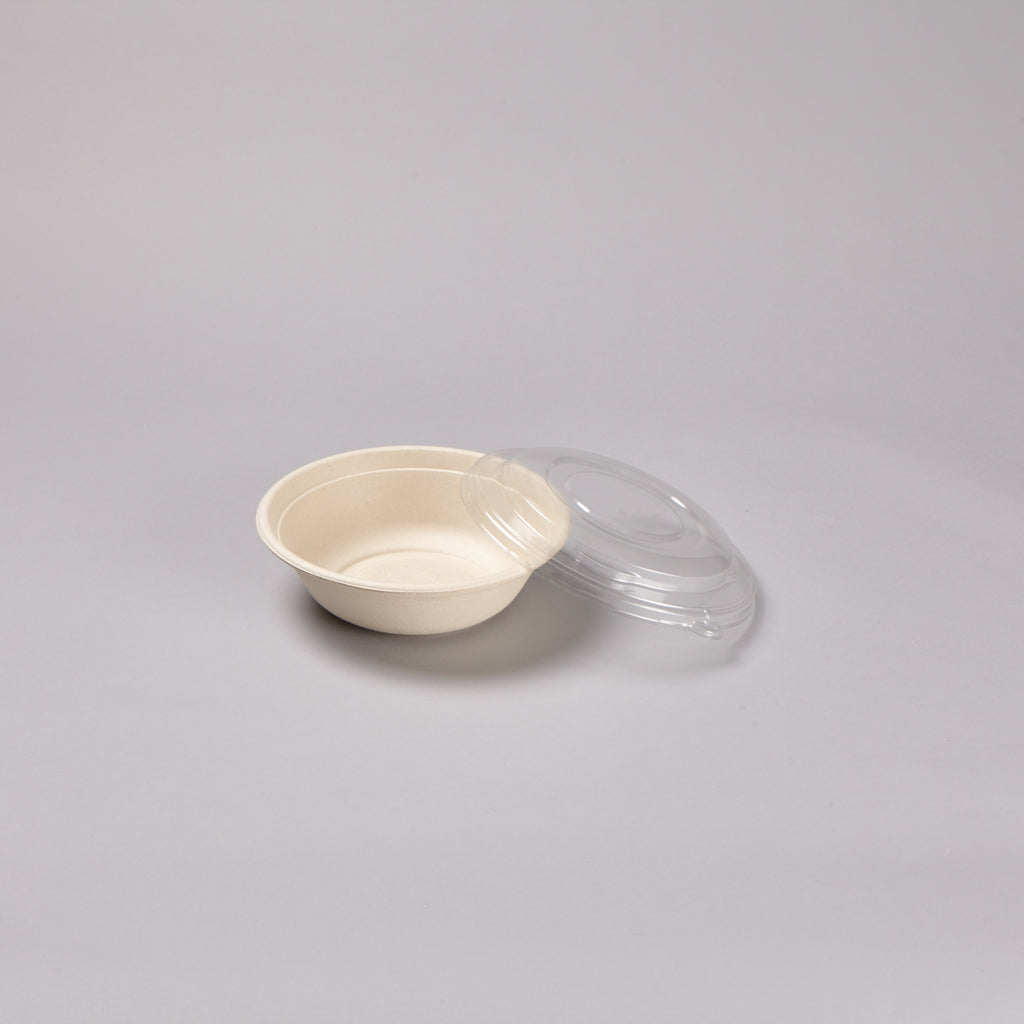1000ml RPET Lid to fit round  Bowl
