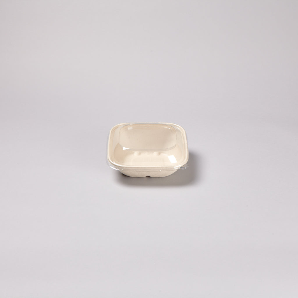 750ml Square BePulp Bowl with High/ Low Edge
