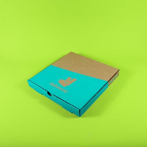 "Kraft 12"" Pizza Boxes (Deliveroo branded)"