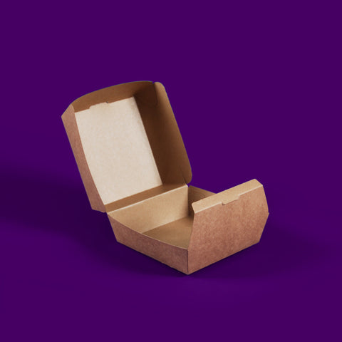 Kraft burger box / hot food box