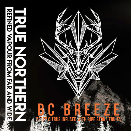 BC Breeze True Northern E-Juice E-Liquid Vape Distribution Wholesale Calgary Alberta Canada