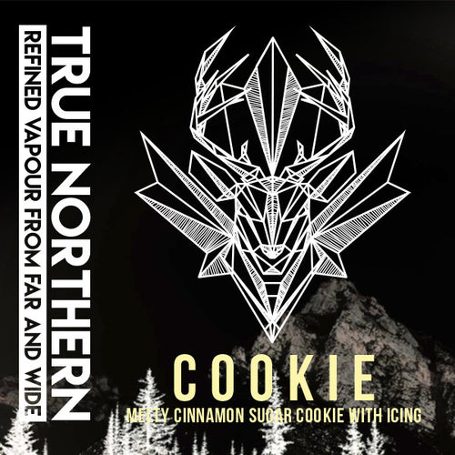 Cookie True Northern E-Juice E-Liquid Vape Distribution Wholesale Calgary Alberta Canada
