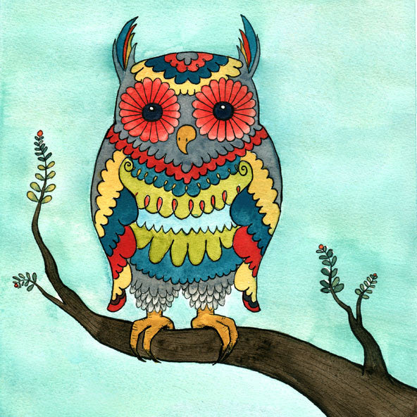 The Bright Owl