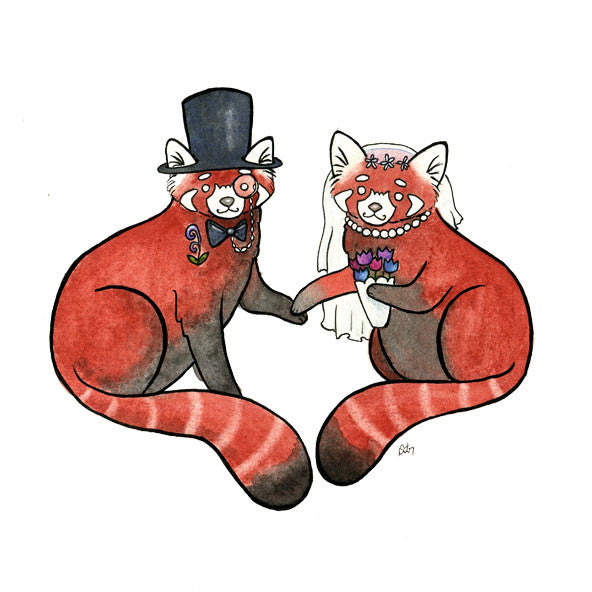 Red Panda Wedding