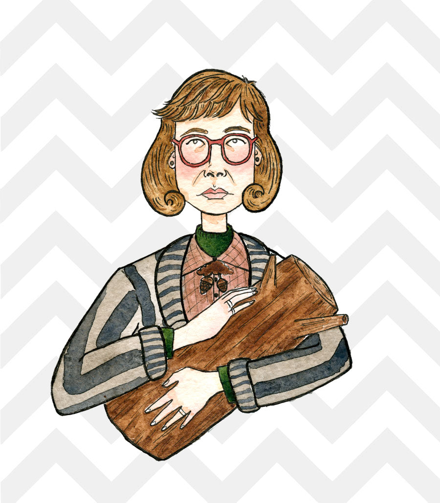 Twin Peaks: Log Lady