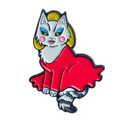 Divine Cat soft  enamel pin SALE