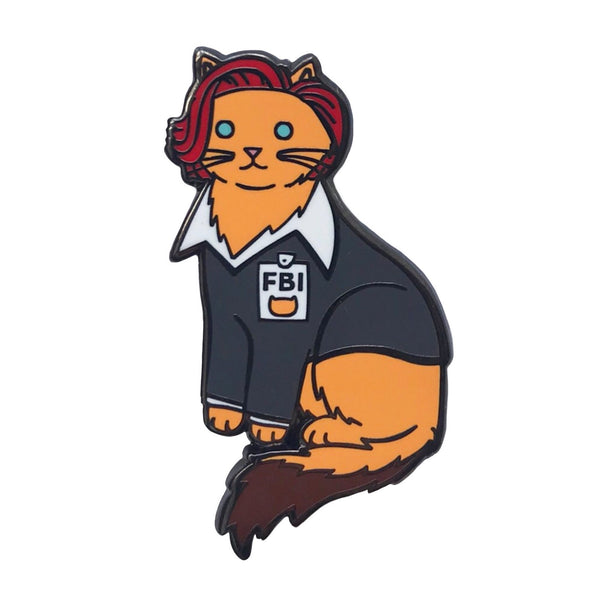 FBI Cat Enamel Pin