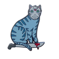 Camp Killer Cat Hard Enamel Pin
