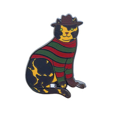 Nightmare Killer Cat Hard Enamel Pin
