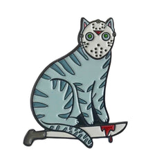 Camp Killer Cat enamel pin SALE