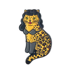 Bettie Page Cat Enamel Pin