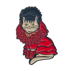Lydia Cat Enamel Pin