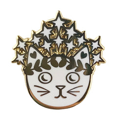 Empress Cat Enamel Pin