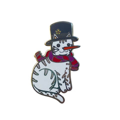 Snow Cat enamel pin SALE