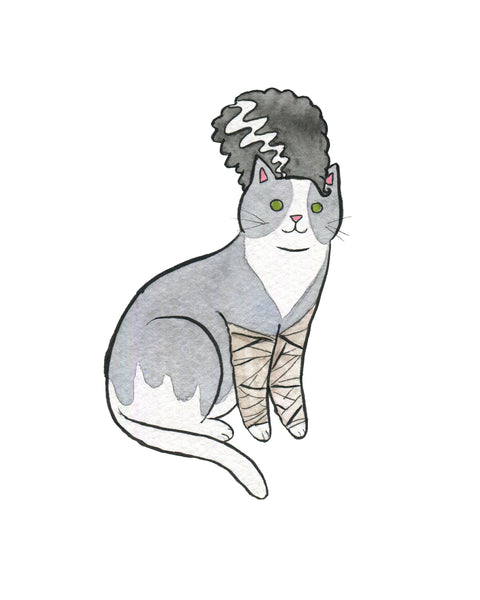 Bride of Frankenstein Cat