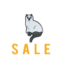 Ghost Cat enamel pin SALE