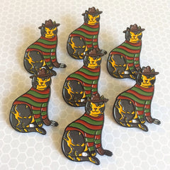 Nightmare Cat Enamel Pin