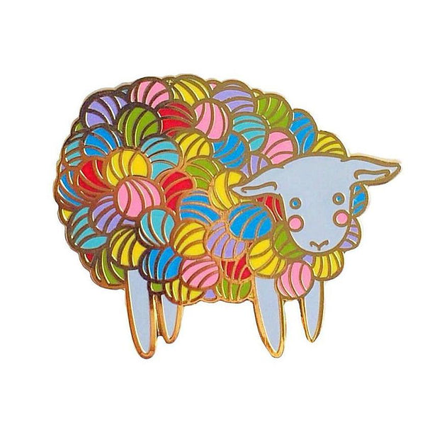 Yarn Sheep Enamel Pin