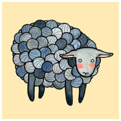Monochromatic Yarn Sheep
