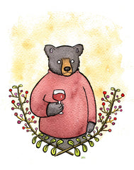 Black Bear Wino Card