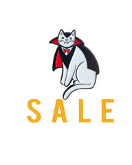 Vampire Cat enamel pin SALE
