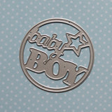 "Suaje ""Baby Boy"" para Baby Shower"