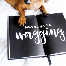 The Dog Diary 2018. Luxe hard cover A5 diary for dog lovers
