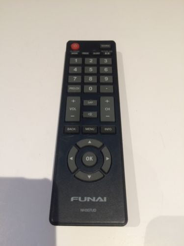 NEW FUNAI NH307UD Television Remote Control For LF320FX4F ORIGINAL REMOTE