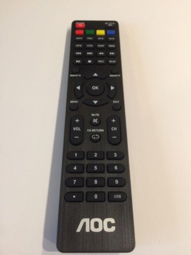 NEW AOC TV REMOTE CONTROL For L24H898, L22H998, L19W89V, L22W898, 2419200215P
