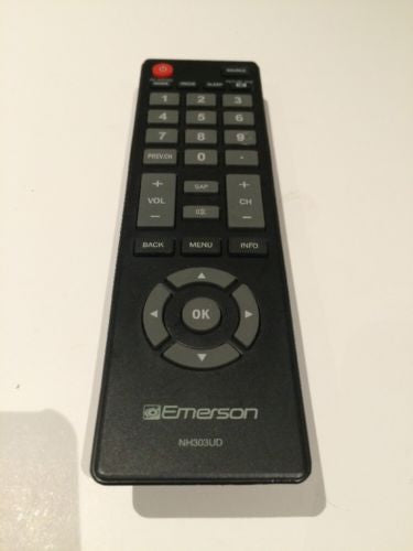 Emerson TV  LCD LED HDTV DVD Remote Control NH303UD Television Remote Control