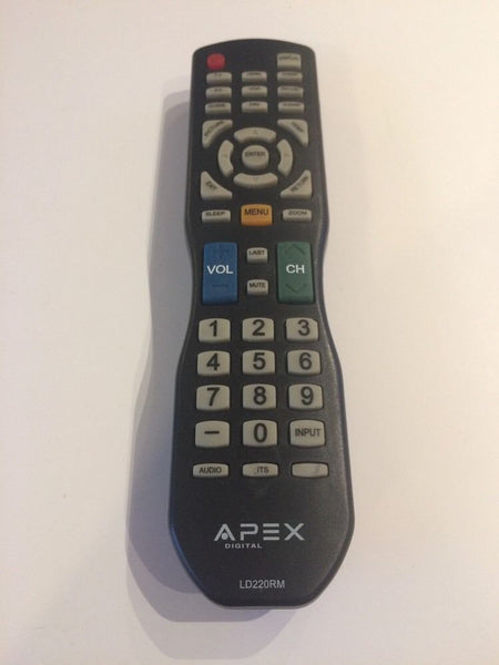 APEX LD220RM  TV REMOTE CONTROL For LD200RM LD4688LCD LED HDTV