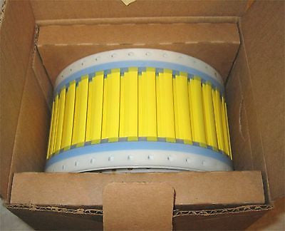TYCO/Raychem TMS-SCE-1/8-2.0-4 Heat Shrink Wire ID Sleeve Yellow Color (25 ea)