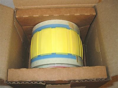 TYCO/Raychem TMS-SCE-1/2-2.0-4 Heat Shrink Wire ID Sleeve Yellow Color (25 ea)
