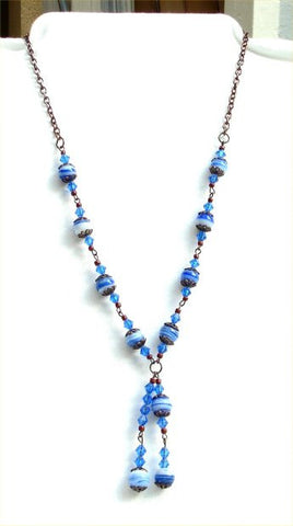Blue Earth Necklace