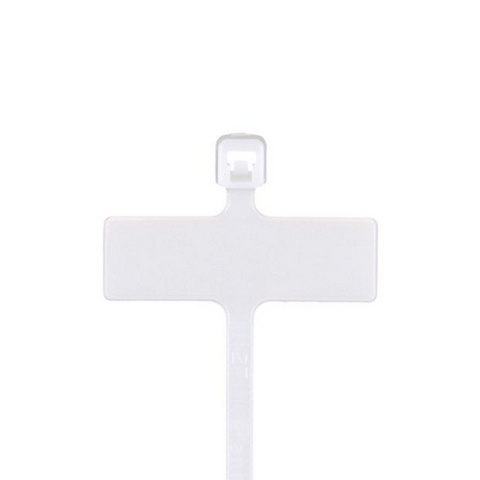 MS3368-5-9E, White Cable Tie (100ea/bag)