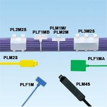 Panduit: PLF1MA-C, PLF1MA-M, White Cable Tie (100ea/bag)