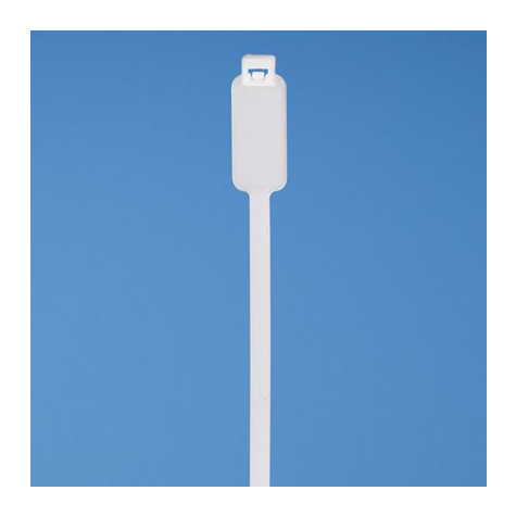 MS3368-1-9A White Cable Tie (100ea/bag)