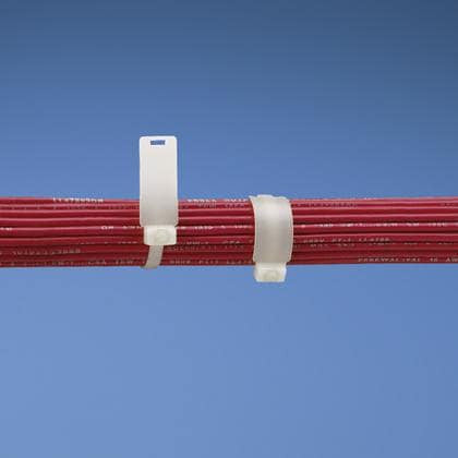 MS3368-1-9B White Cable Tie (100ea/bag)