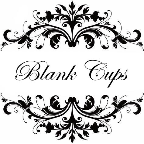 Blank Cups