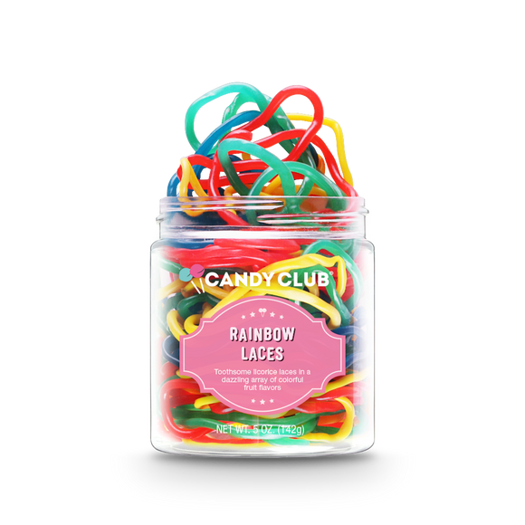 Rainbow Laces Candy