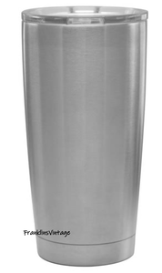 20 & 30 ounce Stainless Steel Blank Tumbler Cup
