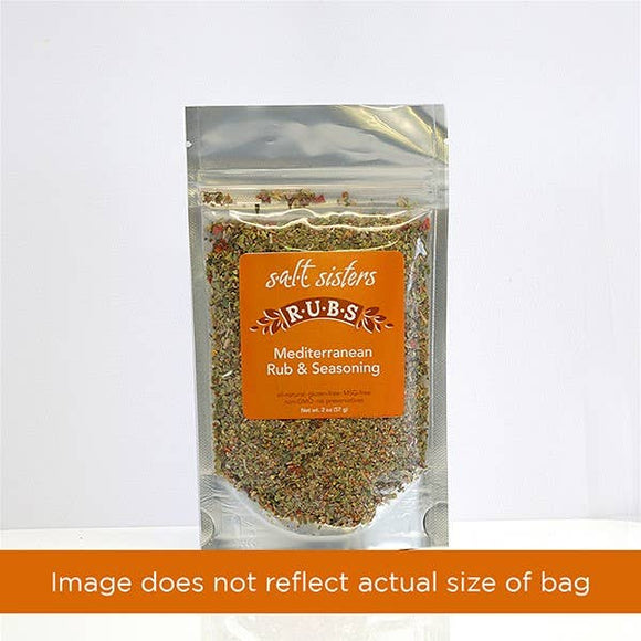 Mediterranean Rub & Seasoning Case Pack of 2