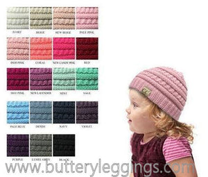 Kids CC Beanie Assorted Colors