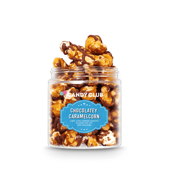 Chocolatey Caramelcorn by Candy Club