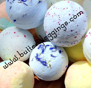 4.0 ounce Bath Bombs Individually Wrapped Limited Edition Scents