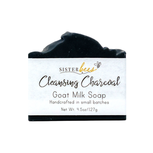 Charcoal Handmade Goat Milk Soap