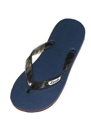 Locals Men's Striped Rubber Slippers- AlohaShoes.com