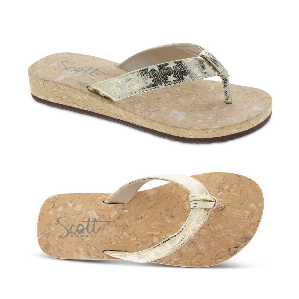 Scott Hawaii Girls Hoku Sandal Wedges - AlohaShoes.com