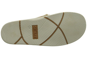 Men's Ni'ihau Leather Strap with Wool-Like Lining