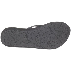 Scott Hawaii's Black Wedge Kahakai Flip Flop- AlohaShoes.com